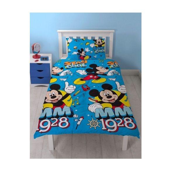 Mickey egér ágyneműhuzat 135 x 200 cm, 48 x 74cm