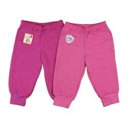 Gumis derekú, zsebes, passzés lányka szabadidő nadrág