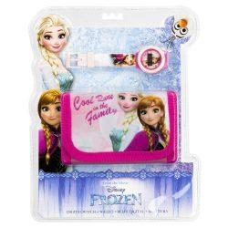 Jégvarázs, Frozen digitális óra + pénztárca szett