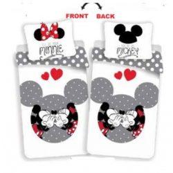 Disney Minnie és Mickey ágyneműhuzat 140x200cm,70x90cm
