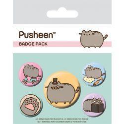 Pusheen cica kitűző szett