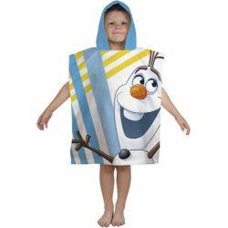 Jégvarázs, Frozen Olaf karakter gyermek poncsó 55 x 115cm