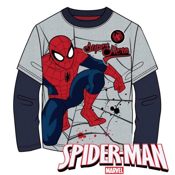 Pókember hosszú ujjú póló, Spiderman 6év/116 cm