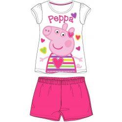Peppa malac gyerek rövid ujjú pizsama