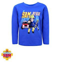 Gyerek hosszú ujjú póló, felső Fireman Sam, Sam a tűzoltó