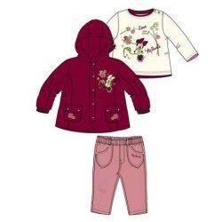 Disney Minnie baba kabát szett, 3 részes szett