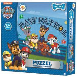 Puzzle 100 db-os Paw Patrol, Mancs Őrjárat