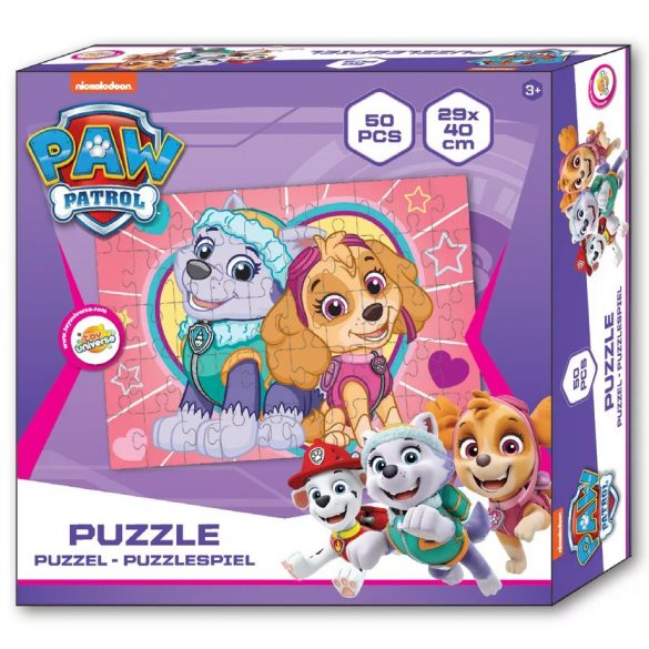 Mancs Őrjárat puzzle 50 db-os