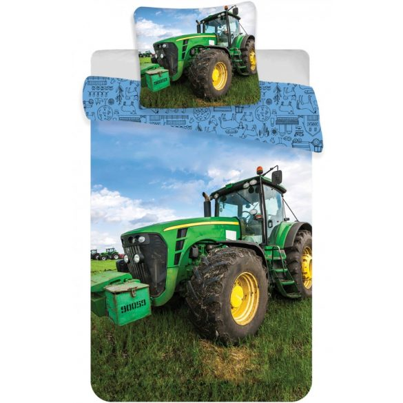 Tractor, Traktor Gyerek ágyneműhuzat 100×135cm, 40×60 cm