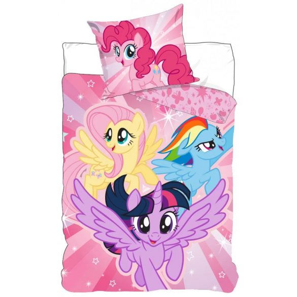 Én kicsi pónim, My Little Pony ágyneműhuzat 140×200cm, 70×90 cm