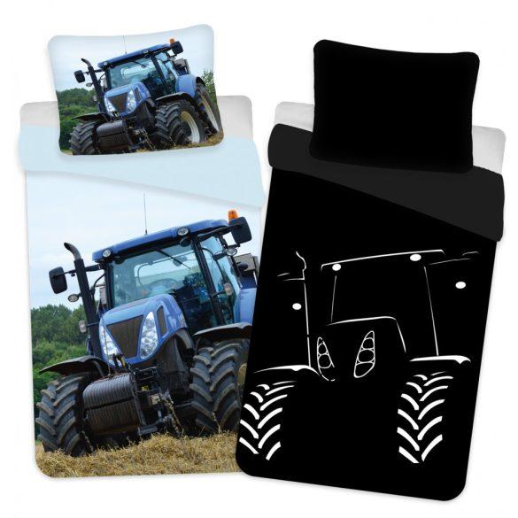 Traktor Sötétben világító ágyneműhuzat 140×200cm, 70x90 cm