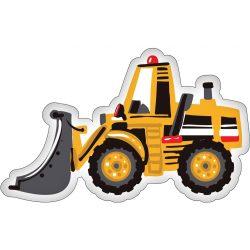 Traktor formapárna, díszpárna