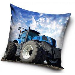 Traktor párna, díszpárna 40*40 cm
