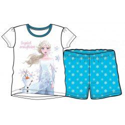 Disney Jégvarázs Gyerek rövid pizsama  4 év/102 cm