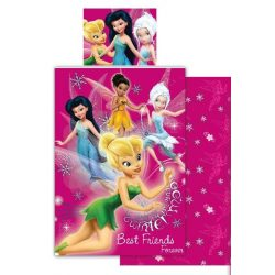 Disney Fairies, Csingiling ágyneműhuzat 140×200cm, 70×90 cm