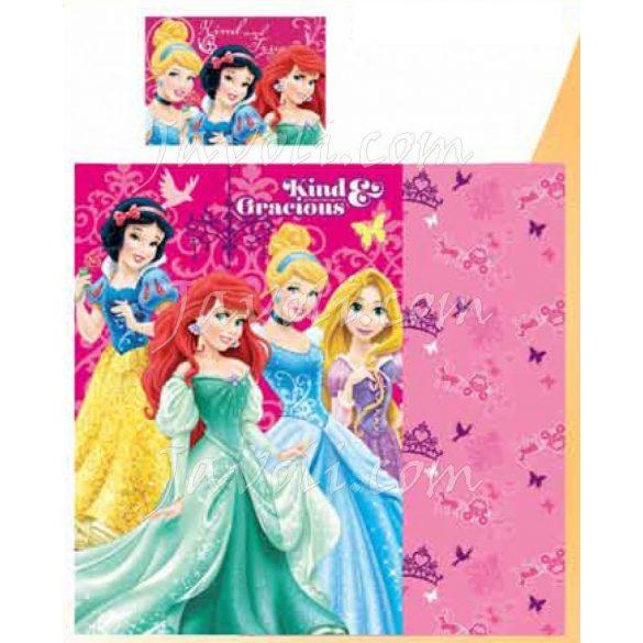 Gyerek ágyneműhuzat Disney Princess, Hercegnők 90×140cm, 40×55 cm
