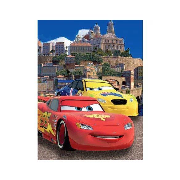 Polár takaró Disney Cars, Verdák ágytakaró 150*200cm