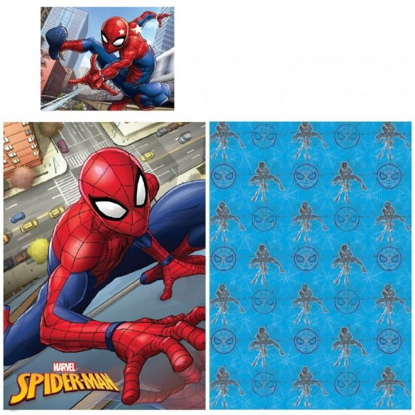 Ágyneműhuzat Spiderman, Pókember 140×200cm, 70×90 cm