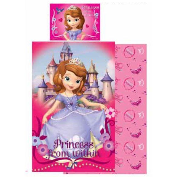 Gyerek ágyneműhuzat Disney Szófia 90×140cm, 40×55 cm