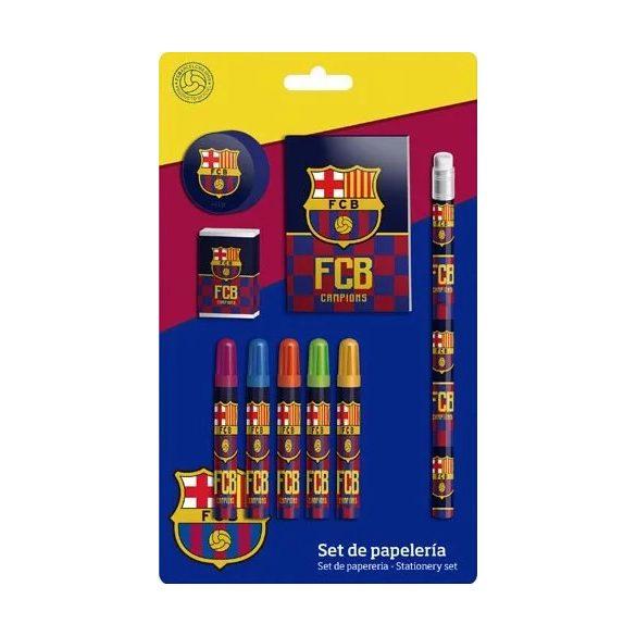 Írószer szett FCB, FC Barcelona