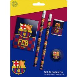 Írószer szett (5 db-os) FCB, FC Barcelona