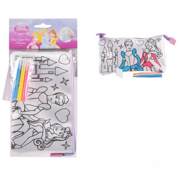 Hercegnők színezd magad a tolltartód
