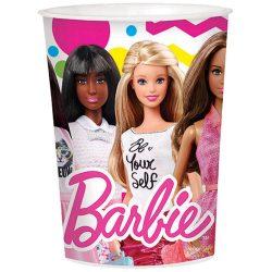 Barbie pohár, műanyag 473 ml
