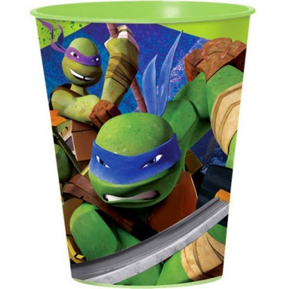 Ninja Turtles, Tini Nindzsa Teknőcök pohár, műanyag 473 ml