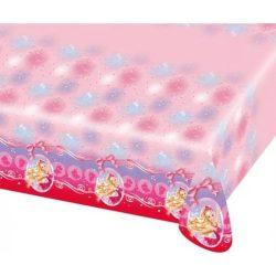 Barbie asztalterítő, műanyag 120*180cm