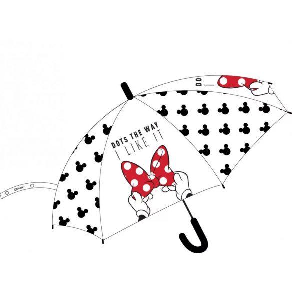 Disney Minnie gyerek félautomata esernyő Ø68 cm