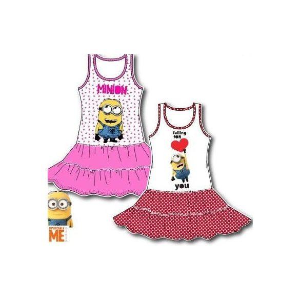 Minions, Minyonok gyerek nyári ruha 3-8 év