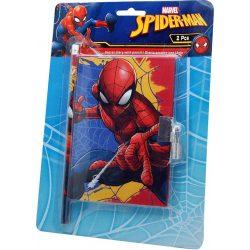 Napló + ceruza szett Spiderman, Pókember