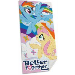 Én kicsi pónim, My Little Pony fürdőlepedő, strand törölköző 70*140cm