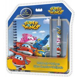 Napló + toll Super Wings
