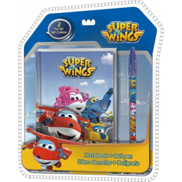 Napló + toll Super Wings
