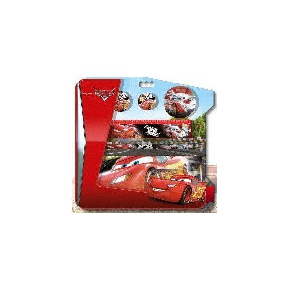 Fém tolltartó szett (5 db-os) Disney Cars, Verdák