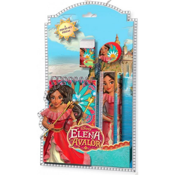 Írószer szett (5 db-os) Disney Elena of Avalor