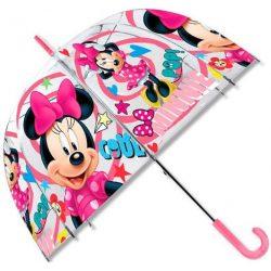 Gyerek átlátszó esernyő Disney Minnie Ø70 cm