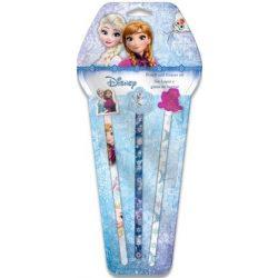 Grafit ceruza + radír szett Disney Frozen, Jégvarázs