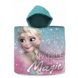 Disney Frozen, Jégvarázs törölköző poncsó 60*120cm