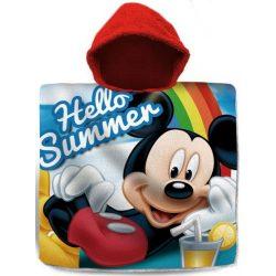 Disney Mickey törölköző poncsó 60*120cm