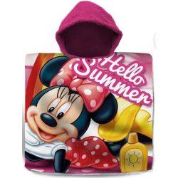 Disney Minnie törölköző poncsó 60*120cm