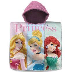 Disney Princess, Hercegnők törölköző poncsó 60*120cm