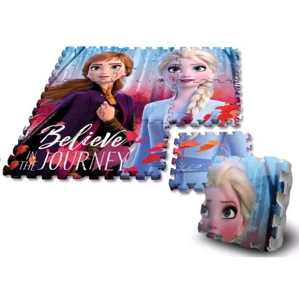Disney Jégvarázs szivacs puzzle szőnyeg 9 db-os