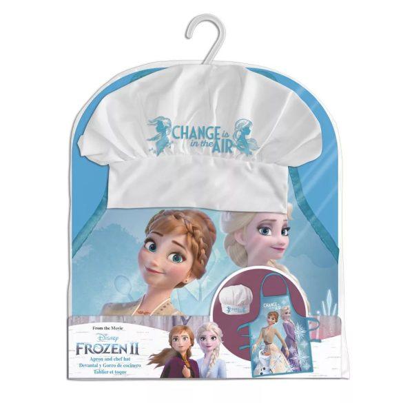 Disney Jégvarázs Gyerek kötény 2 darabos szett
