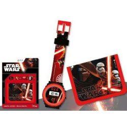 Digitális karóra + pénztárca Star Wars