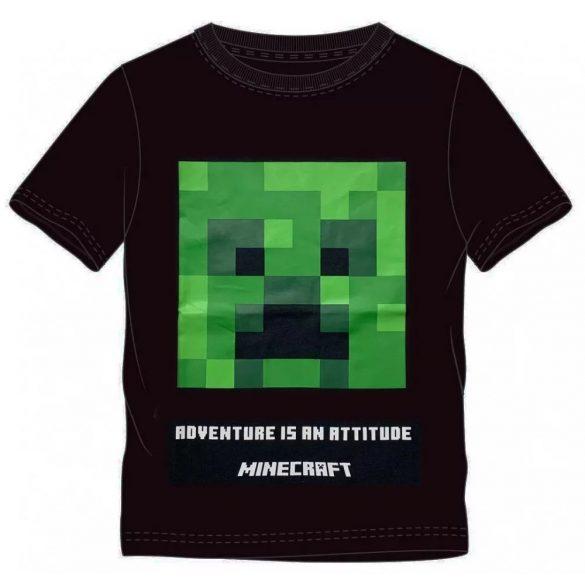 Minecraft gyerek rövid póló, felső 6 év/116 cm