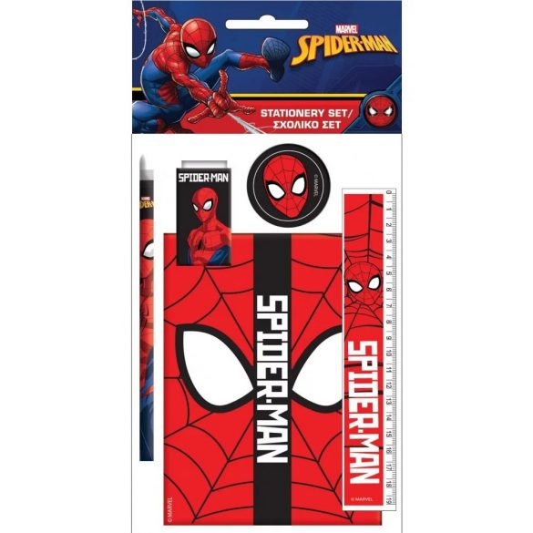Pókember írószer szett 5 db-os