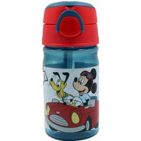 Disney Mickey műanyag kulacs akasztóval 350 ml