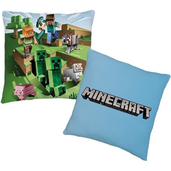 Minecraft párna, díszpárna